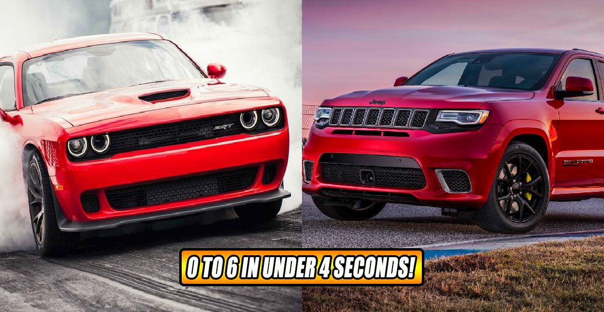 20 Cars You Didn't Know Could Go 0 To 60 In Less Than 4 Seconds