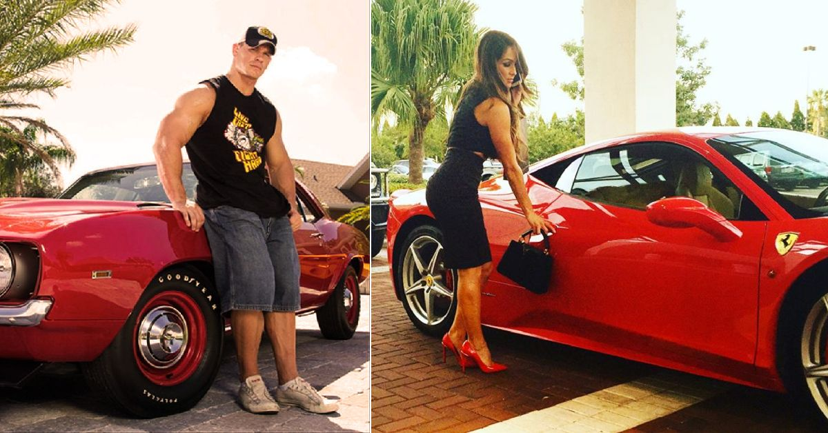 20 Jaw-Dropping Pictures Of John Cena's Car Collection Everyone Needs To See