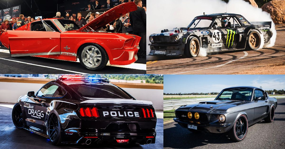 21 Insane Pictures Of People Who Modified Their Mustangs