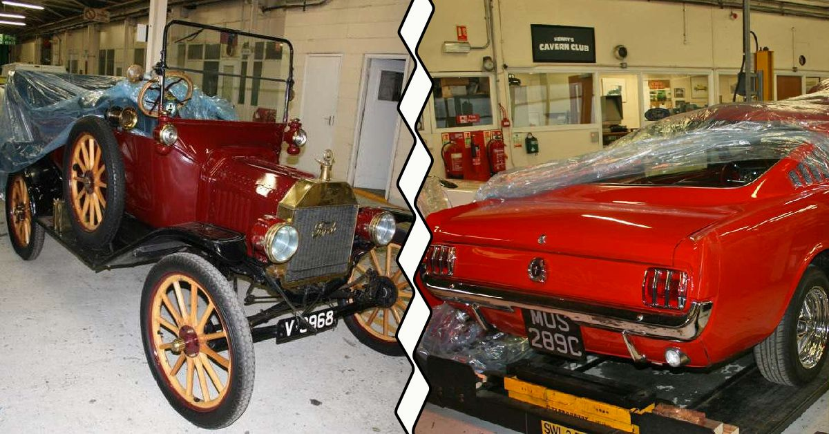 Sick Pics Of Fords Secret Warehouse Of Classic Cars HotCars - Sick old cars