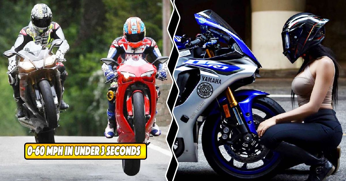 20 Street Legal Motorcycles That Go 0 60 Mph In Under 3 Seconds