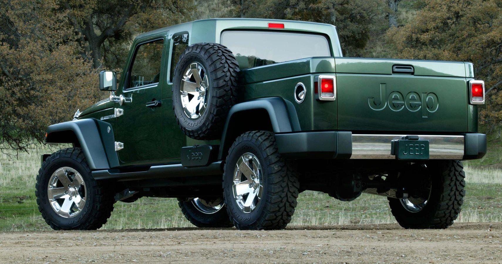 New Jeep Scrambler >> Jeep Scrambler Pickup Check Out The Tailgate Hotcars