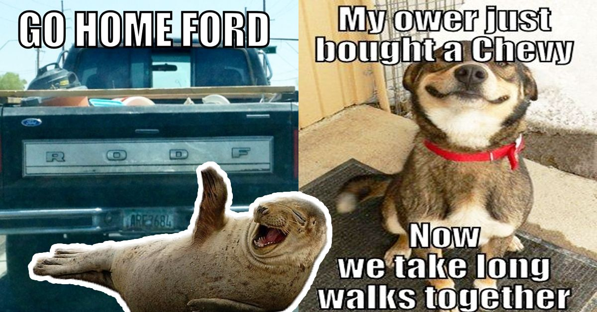 Ford And Chevy Battle It Out With 19 Memes Hotcars