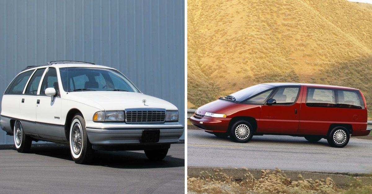 20 Chevy Cars From The 1990s That Made Absolutely No Sense