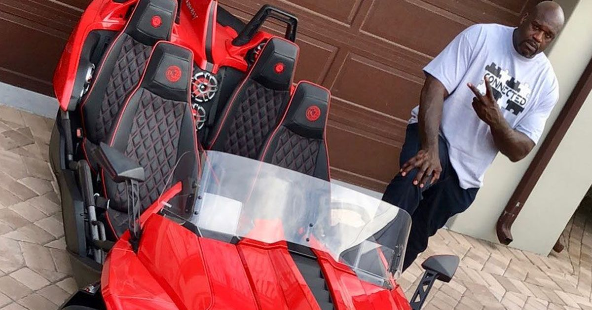 How To Flip Cars >> 10 Cars In Shaq's Garage Worth Every Dollar (9 That Aren't)