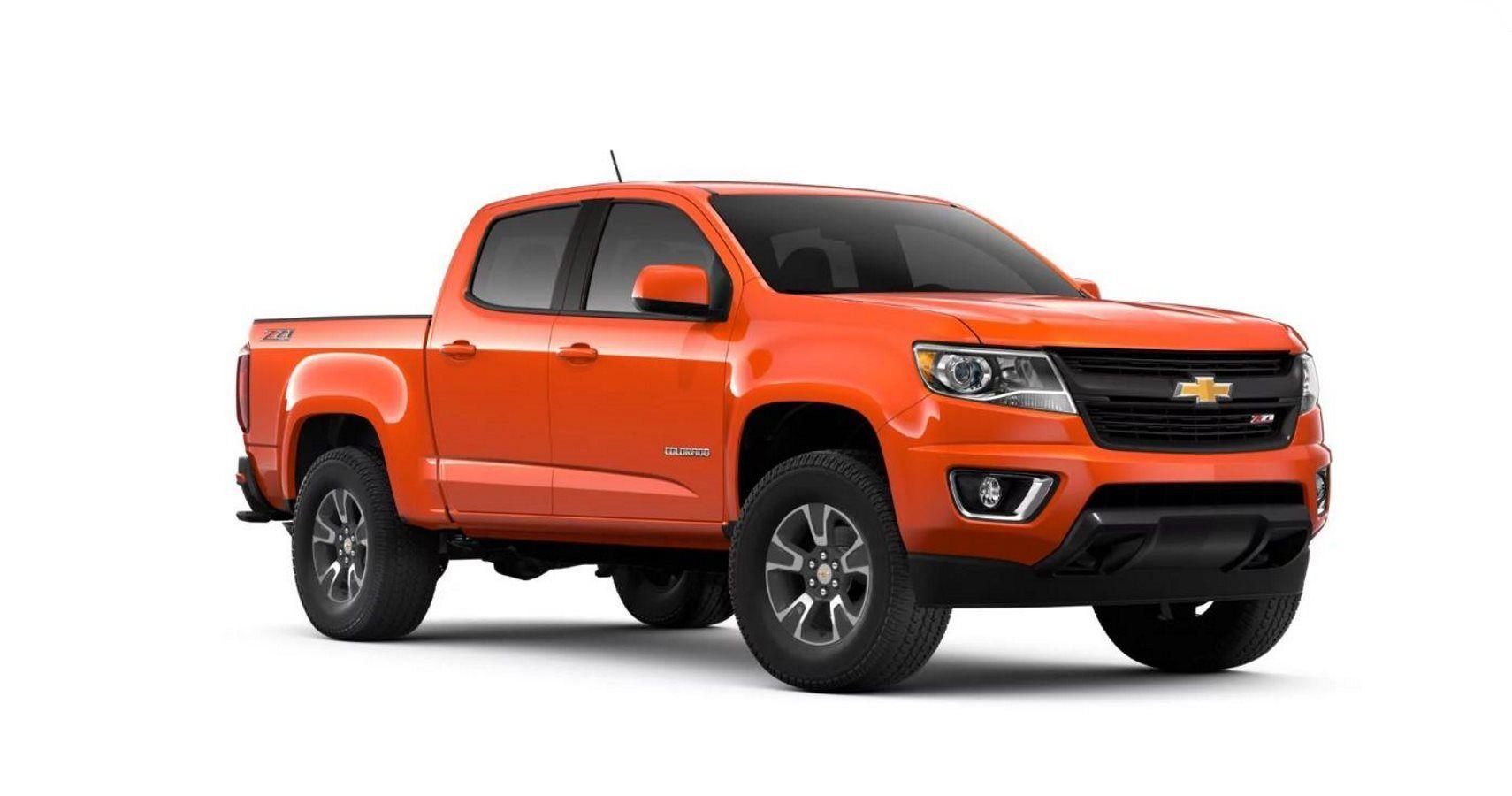2019 Chevrolet Colorado Gets More Color Options | HotCars