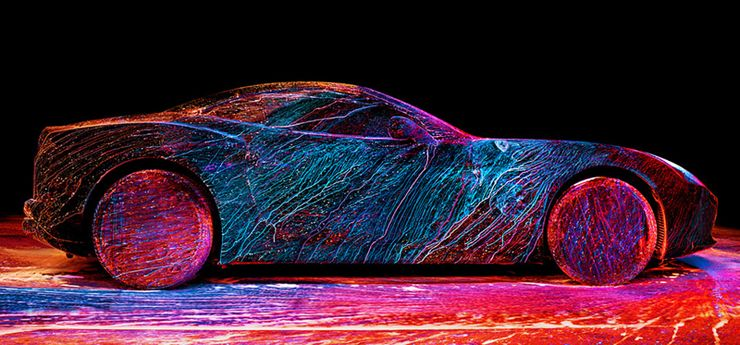 20 Most Outrageous Paint Jobs Spotted On Cars Hotcars
