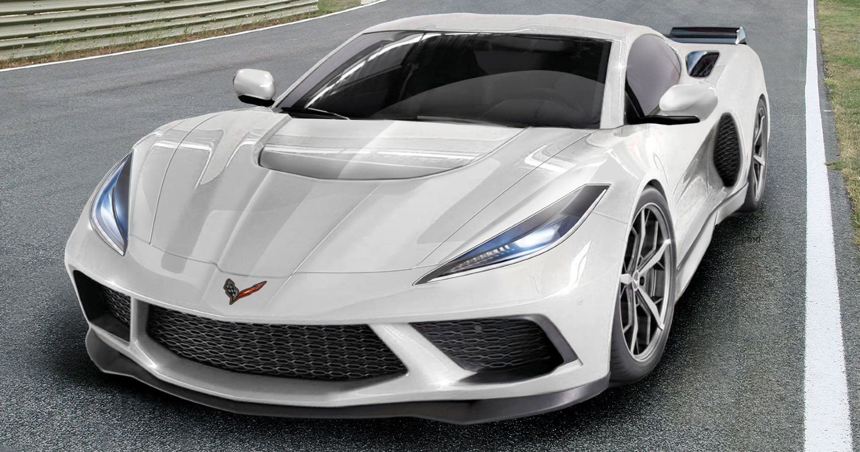 Mid-Engined Corvette Spotted In The Streets With Revealing ...