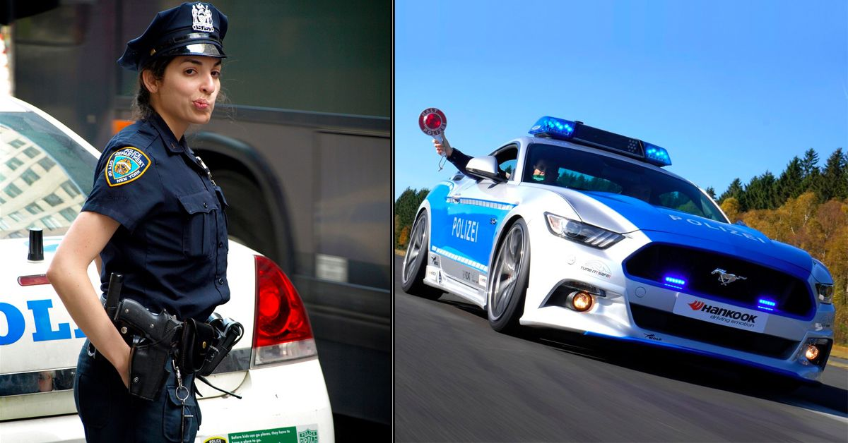 18 Things Police Do To Their Cars That Regular People Aren