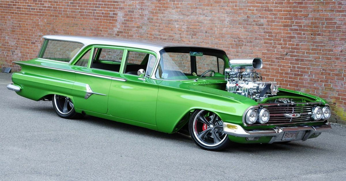 18 Modded Station Wagons That Actually Look Sick Hotcars