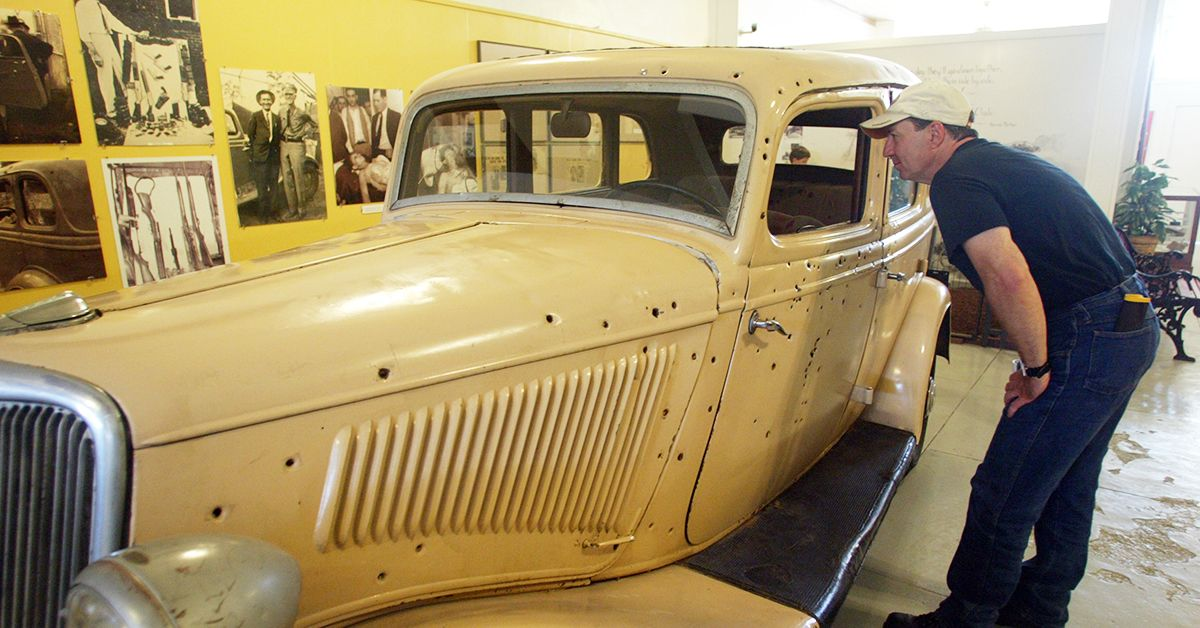 Clyde ford v8 bonnie Clyde with