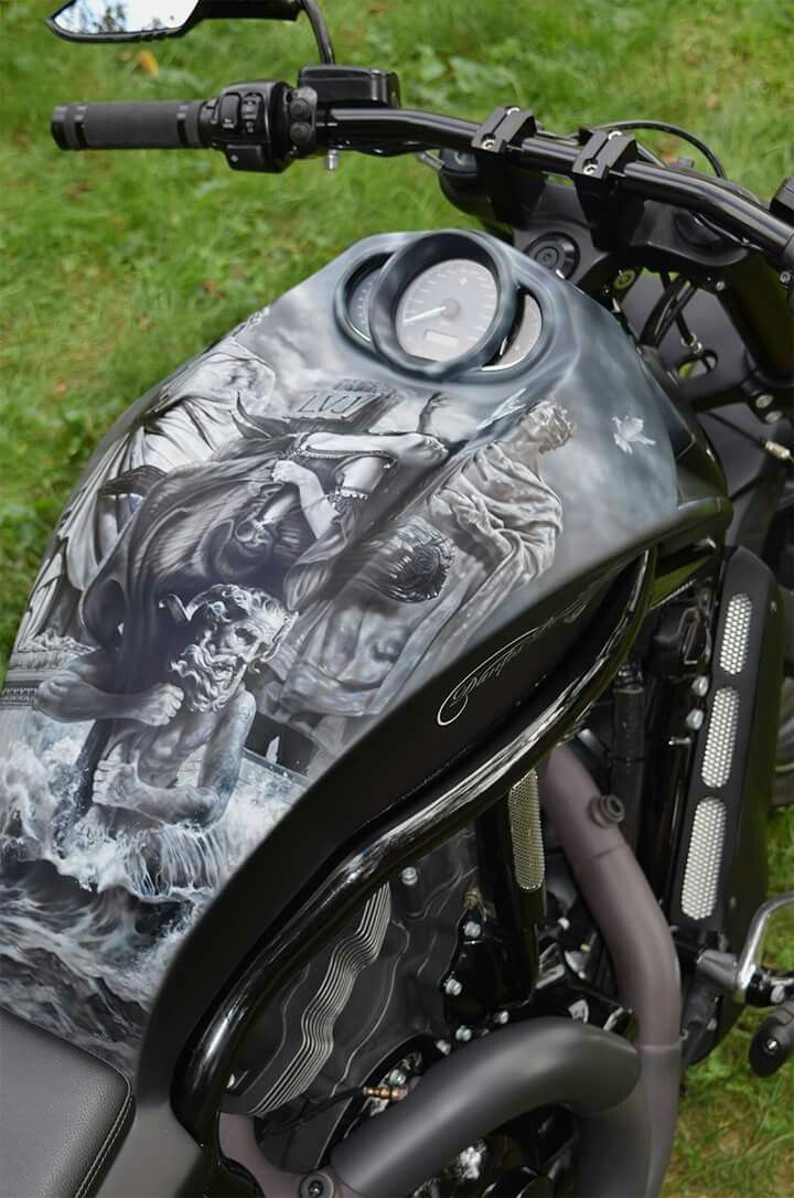 25 Motorcycle Paint Jobs That Made Us Spit Out Our Cereal