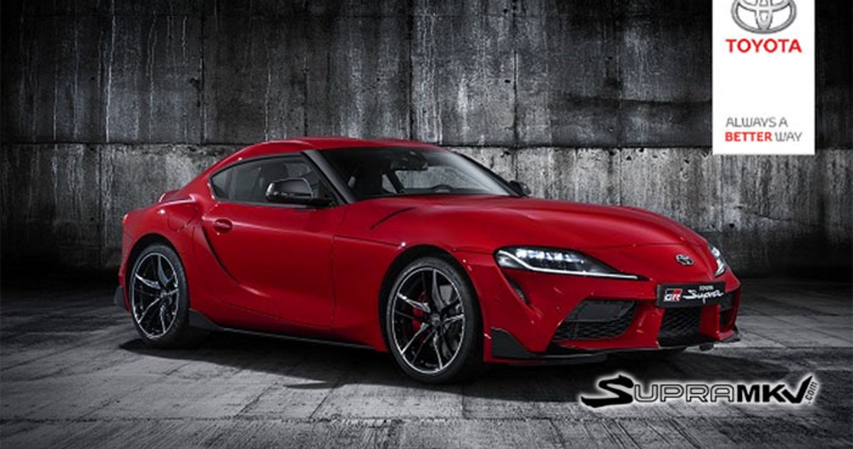 Toyota Supra Leaks Reveal Front & Rear Of Car | HotCars