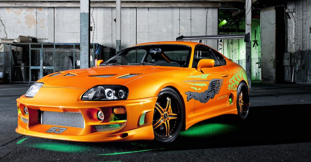 The Real Cost Behind These 15 Cars From The Fast And Furious Movies