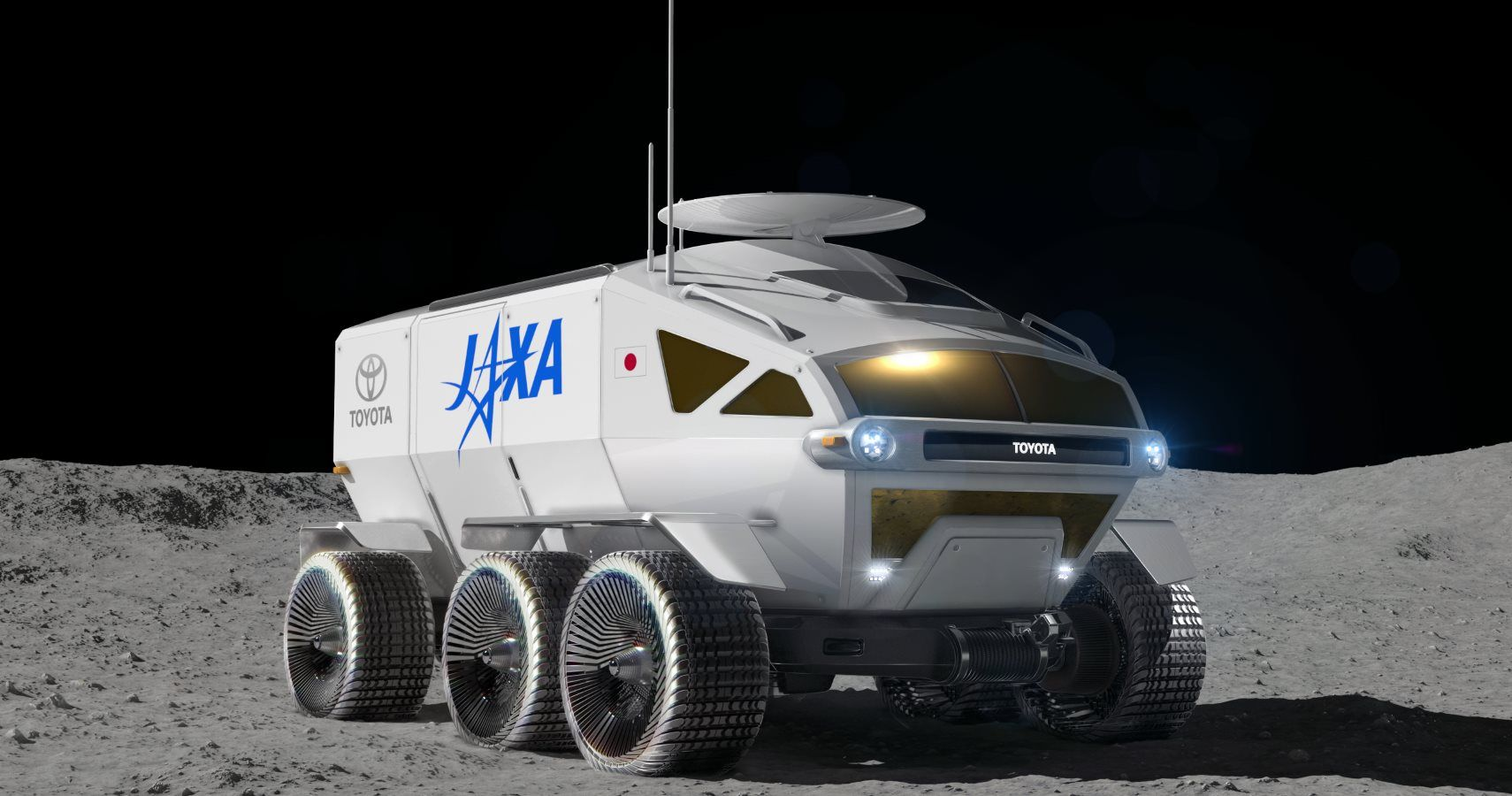 Toyota Signs Deal To Make Minivan For The Moon