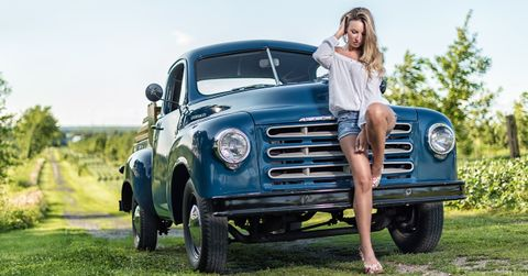 Naked girls in lifted trucks 19 Photos Of Pickup Truck Girls Every Guy Needs To See