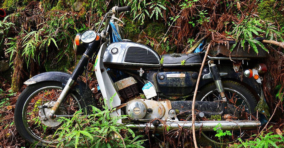 25 Rusty Motorcycles No One Should Ever Ride Again | HotCars
