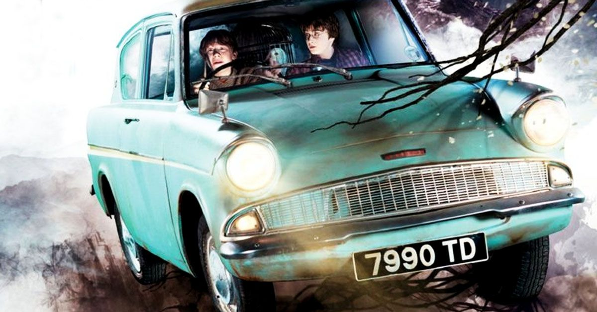 20 Strange Details About The Flying Ford Anglia From Harry ...