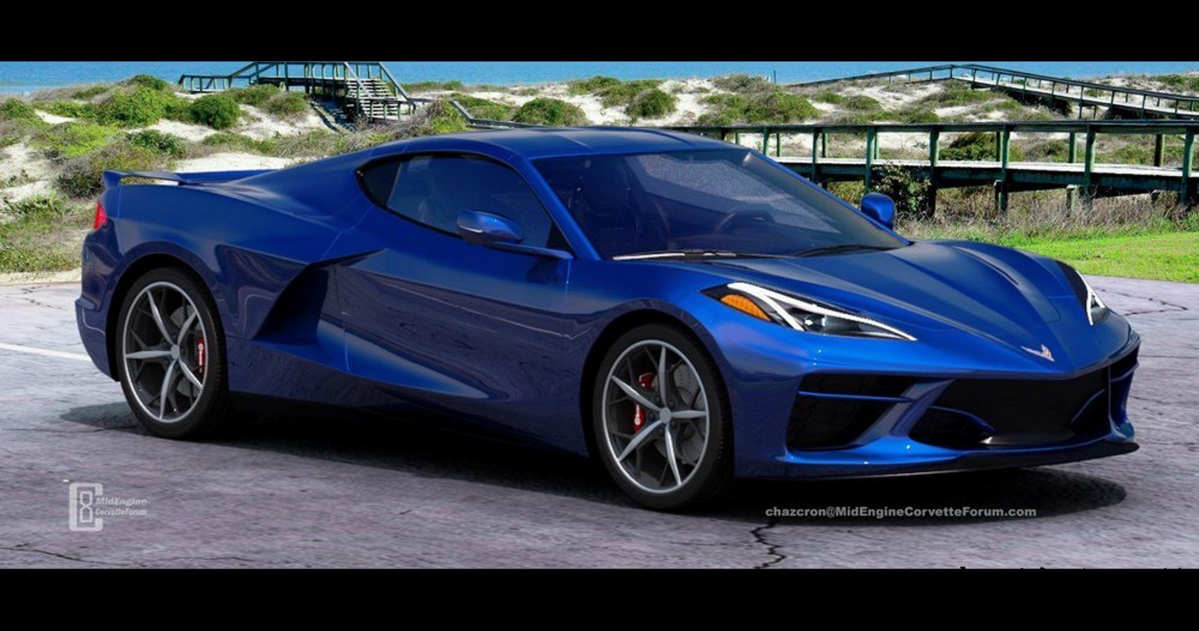 New Renders Imagine Mid-Engine Corvette Without Exposed ...