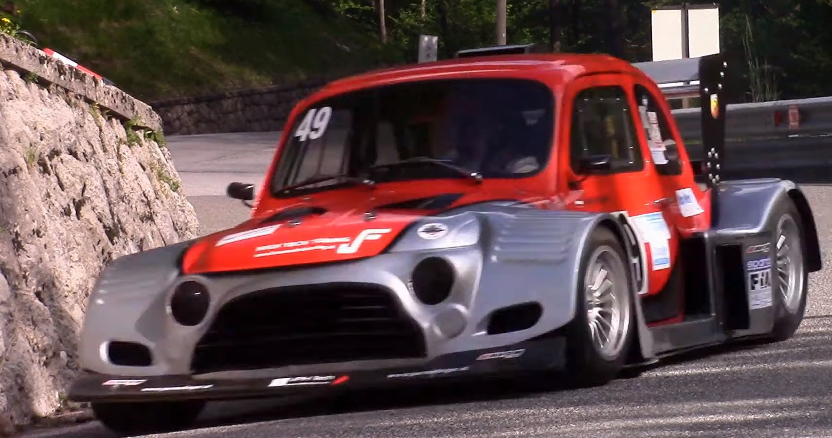 This Fiat 500 Has An Insane Widebody Kit And A Suzuki Hayabusa S Engine