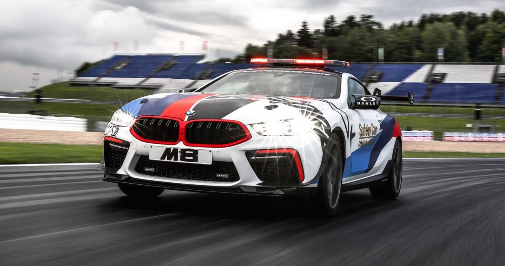 BMW Reveals Its First-Ever M8 MotoGP Safety Car | HotCars