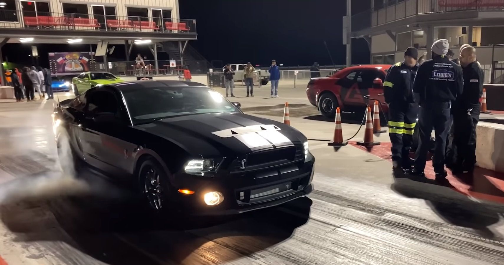 Dodge Demon Takes On Modified Ford Shelby Mustang GT500 In ...