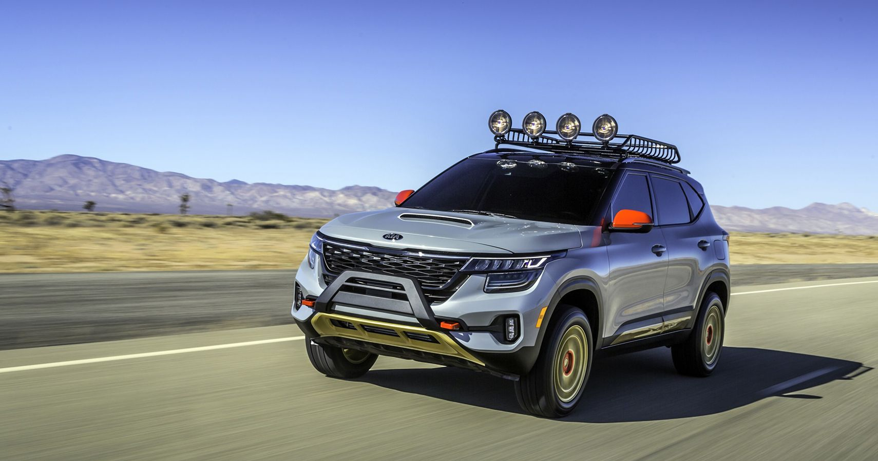 Fast Lane Motors >> These 2 Seltos X-Line Concepts Take Kia's Cutting Edge SUV To New Heights