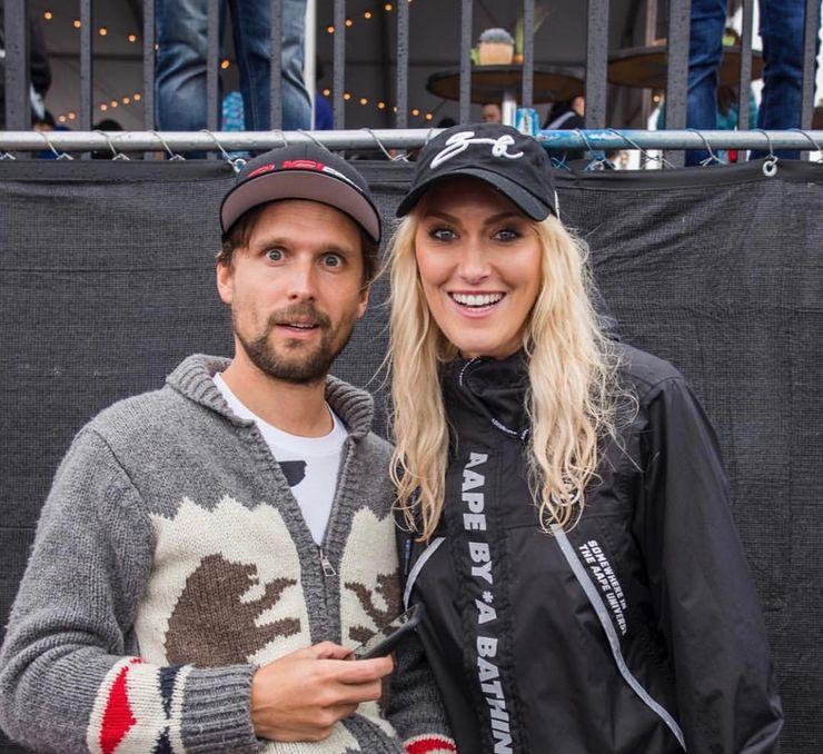 Supercar Blondie with friendly, Husband Nik Hirschi