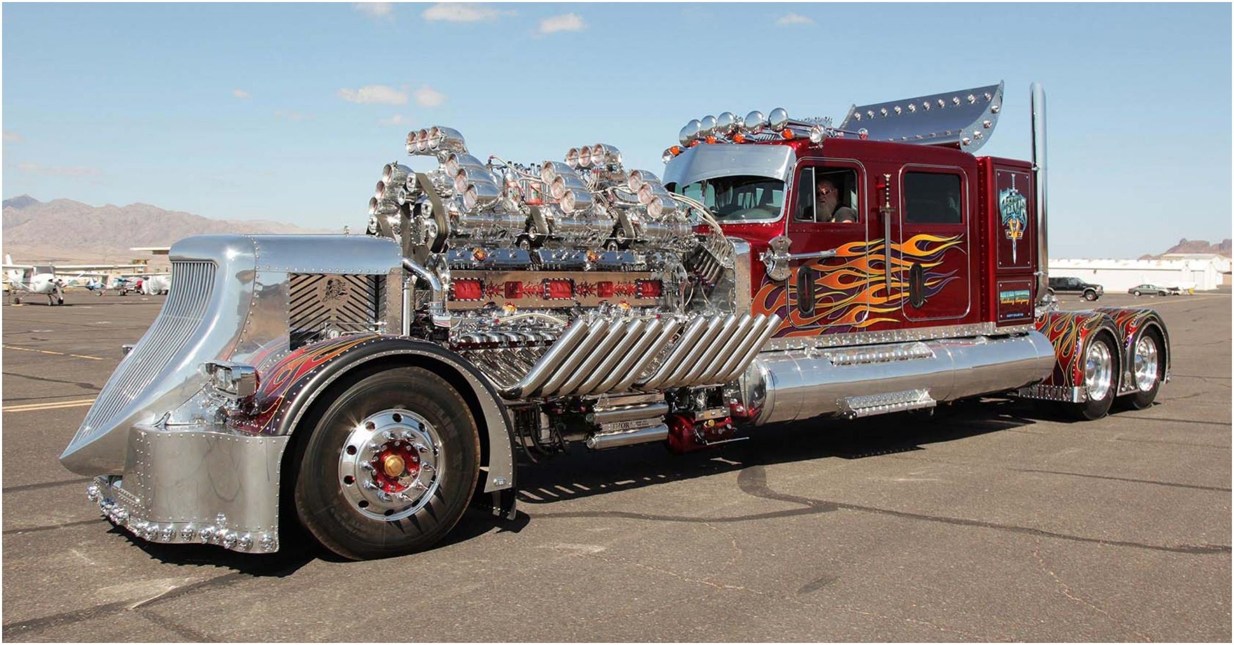15 Modded Big Rigs That Would Make West Coast Customs Proud