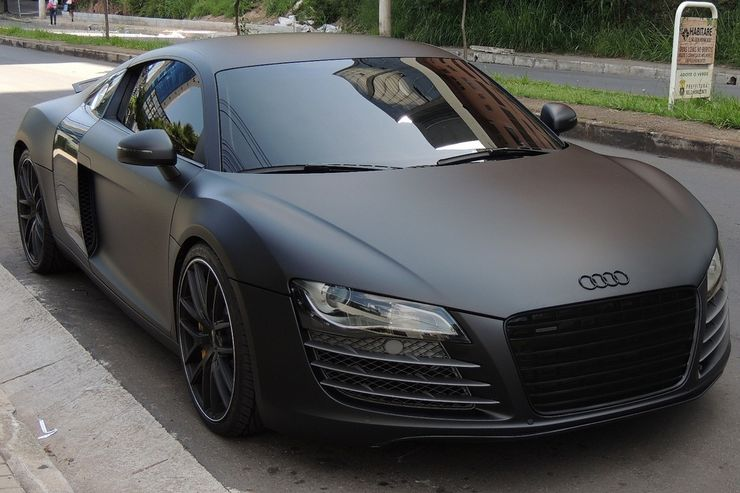 Check Out These Badass Matte Black Sports Cars Hotcars