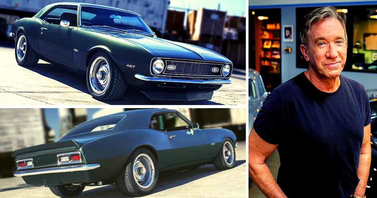 Tim Allen's Own Creation Of A 1968 Chevy Camaro COPO Muscle Car