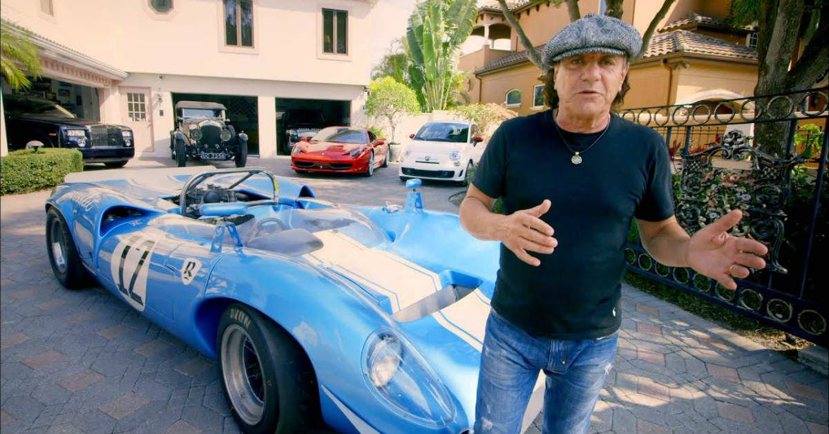 These Rockstars Have The Sickest Car Collections