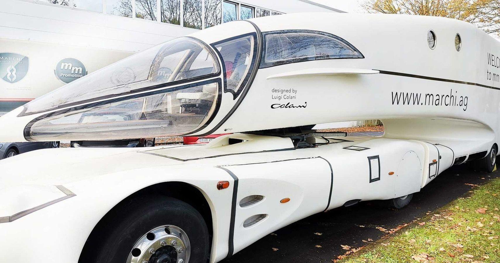 Innotruck Futuristic Concept Spearheaded Electric Truck Tech