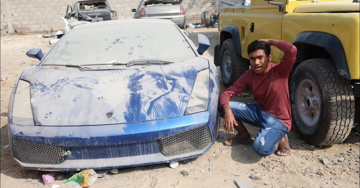 The Most Jaw Dropping Cars People Found Abandoned In Dubai