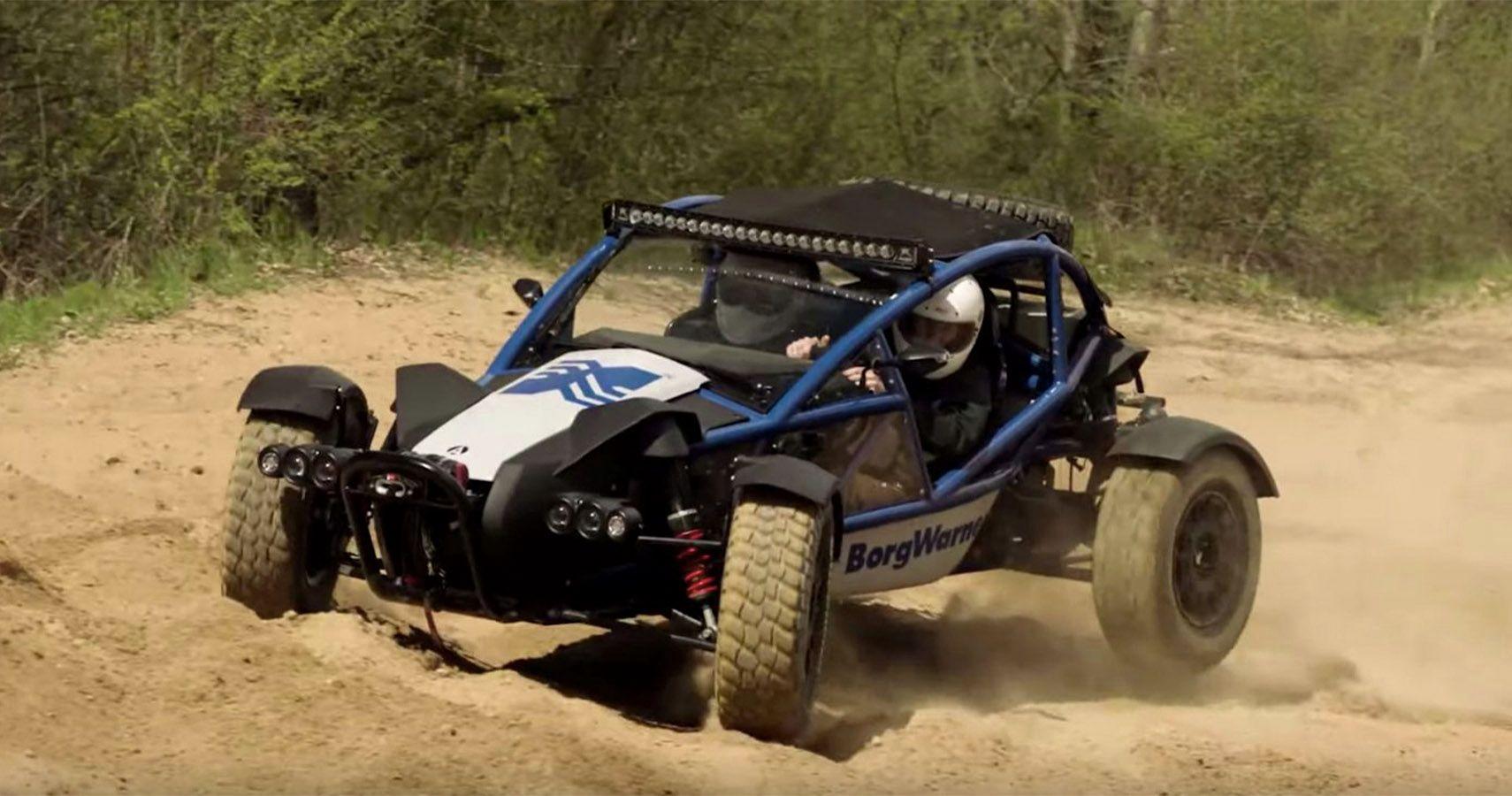 BorgWarner's Electric Ariel Nomad Built For Charging The Dunes