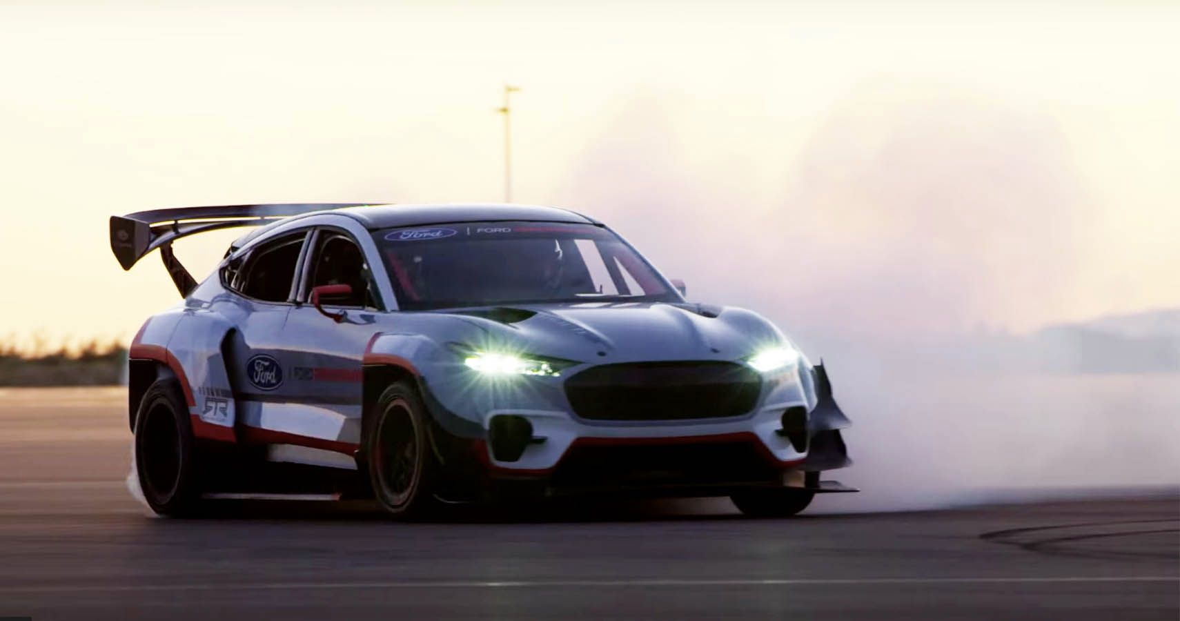 Ken Block Takes The Mustang Mach-E Drifting | HotCars
