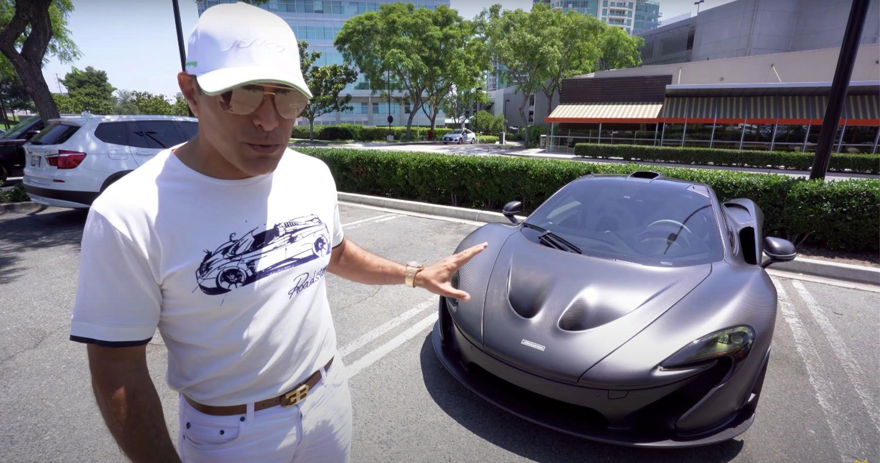 Watch A McLaren P1 Do A 0-60 MPH Run In All-Electric Mode