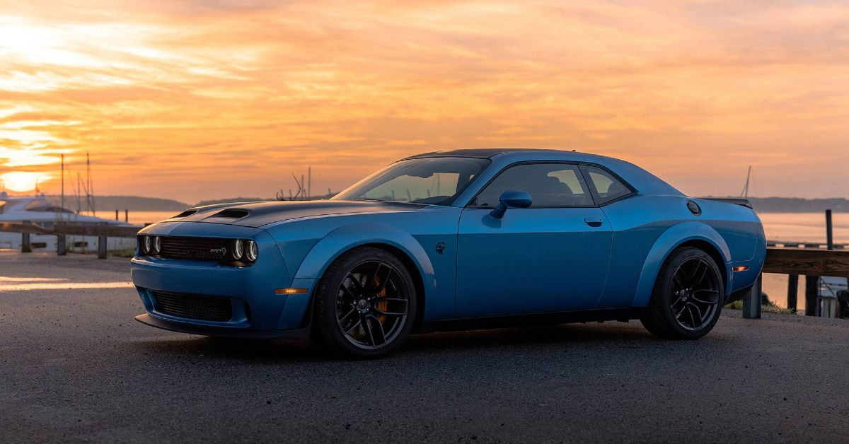The Real Story Behind The Dodge Challenger Hellcat Engine
