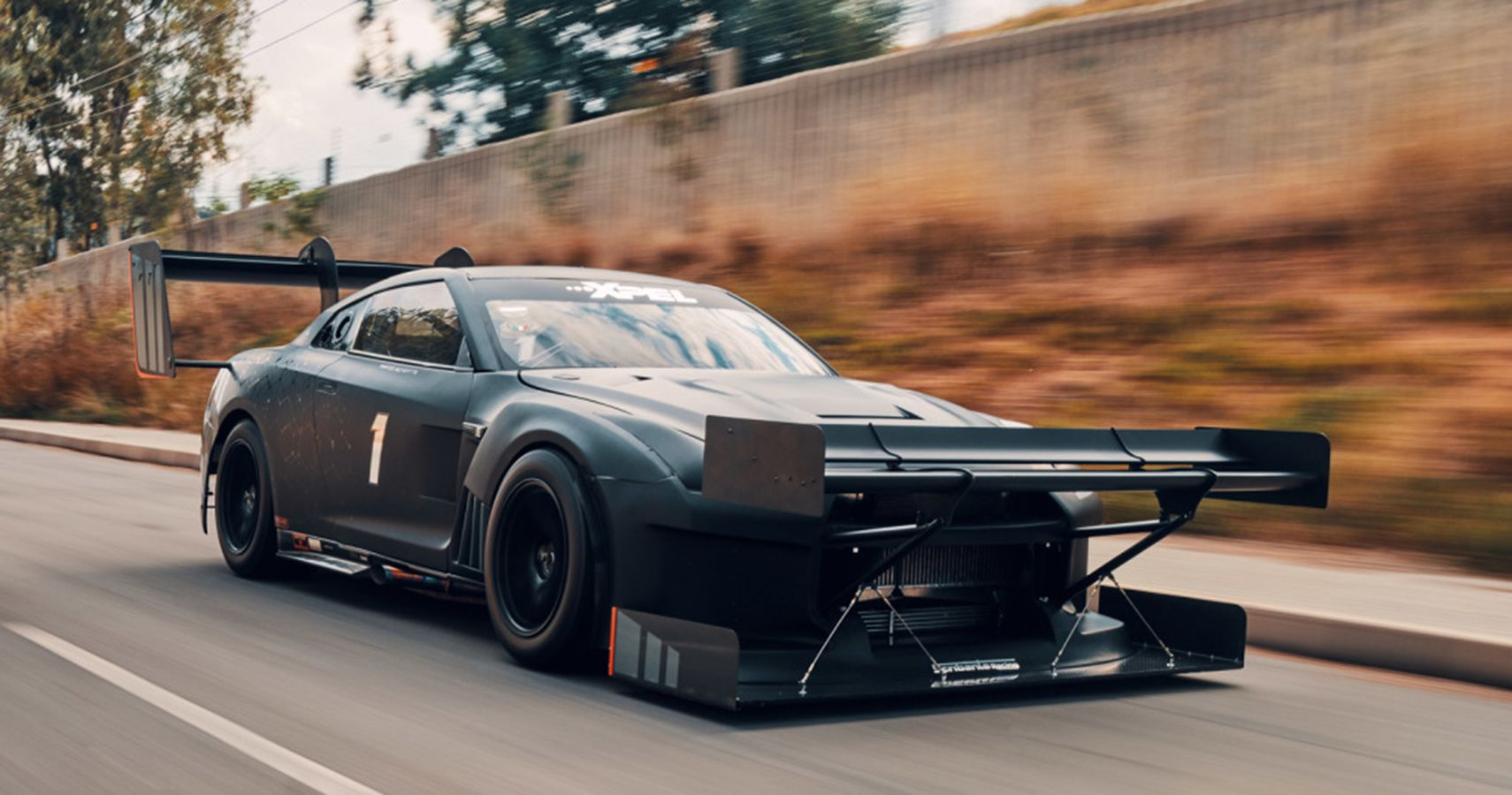 King Of The Hill! Scribante Racing's Aero-Laden R35 GT-R Seeks Action
