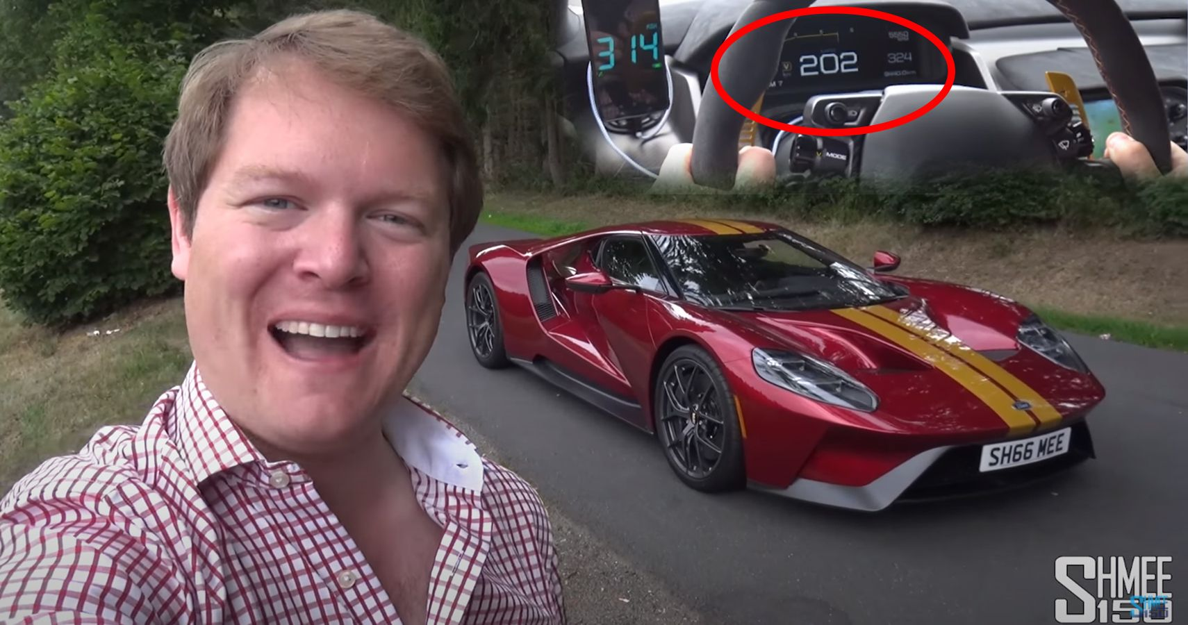 Watch Shmee150 Drive His Ford GT 202 MPH On The Autobahn