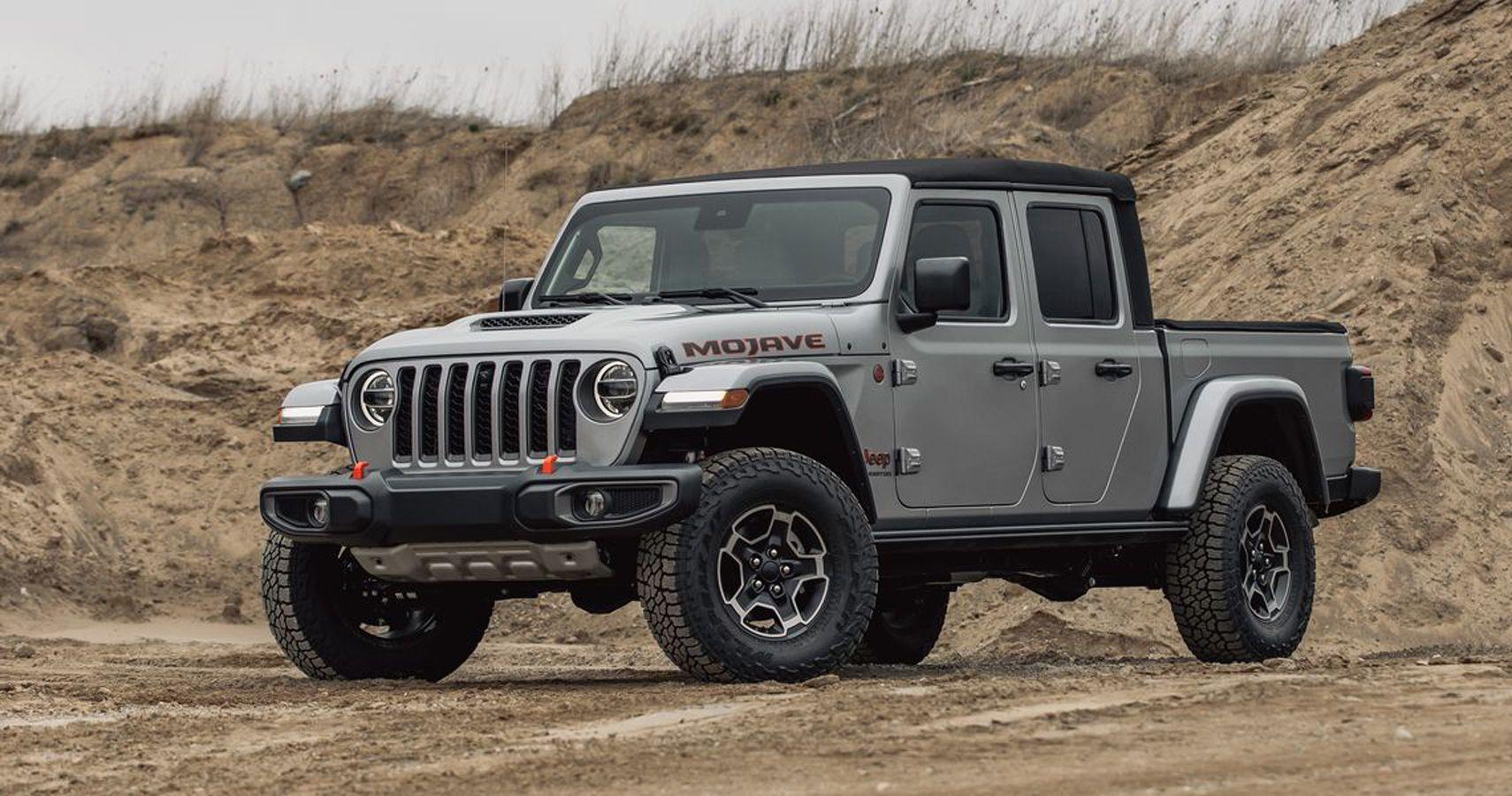Motorweek Test Drives The 2020 Jeep Gladiator Mojave