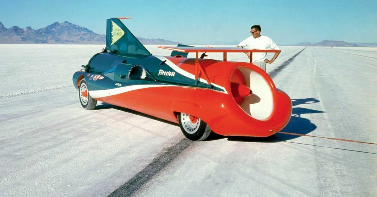 These Are The 10 Fastest Land Speed Record Cars Ever