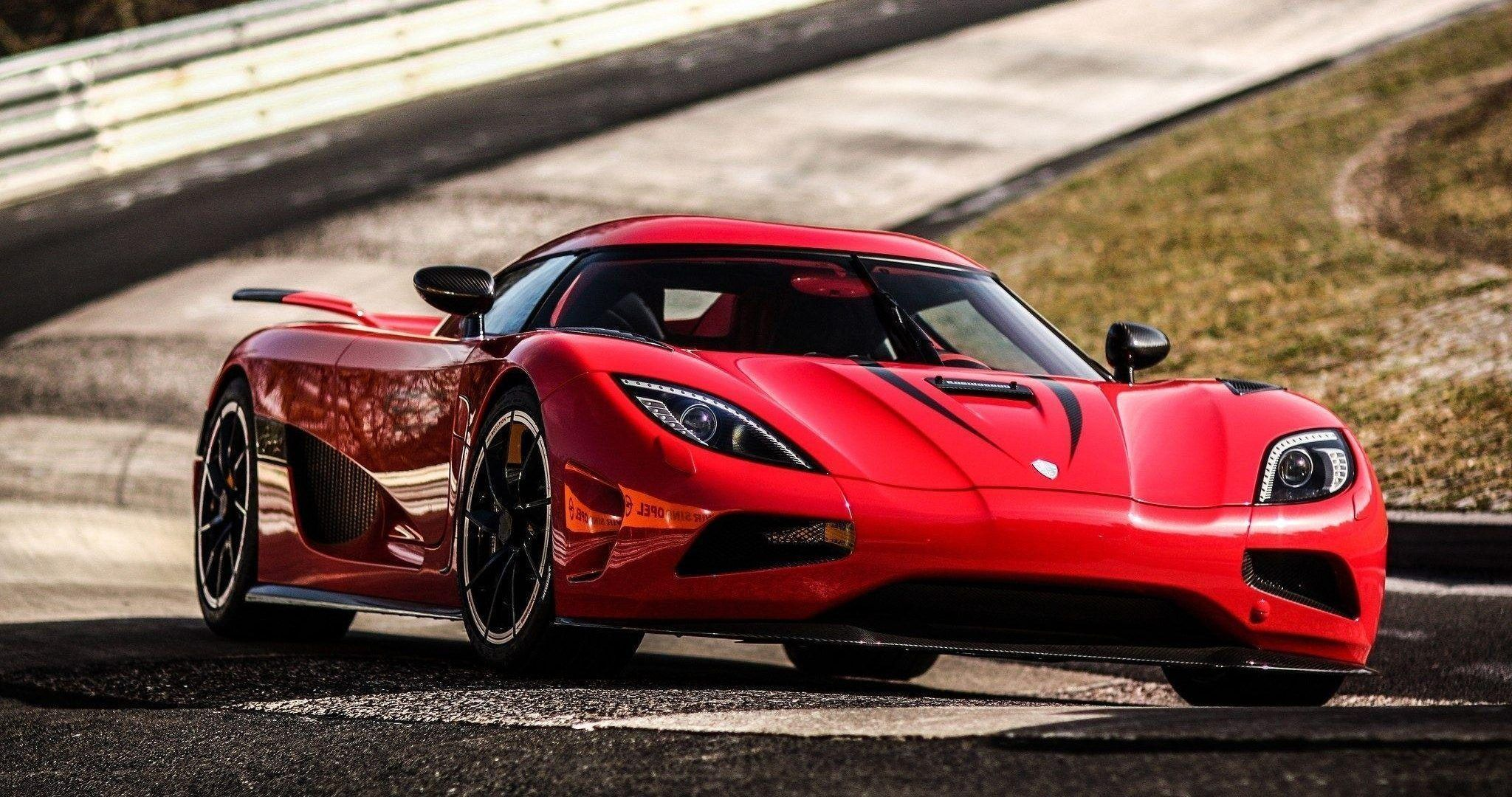 Ranking The Fastest V8-Powered Sports Cars