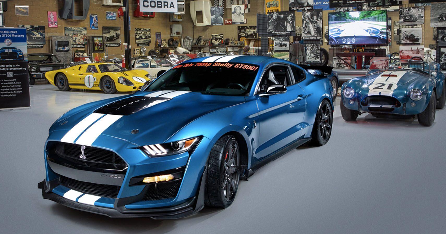 Shelby American Museum Raffling A 2020 GT500