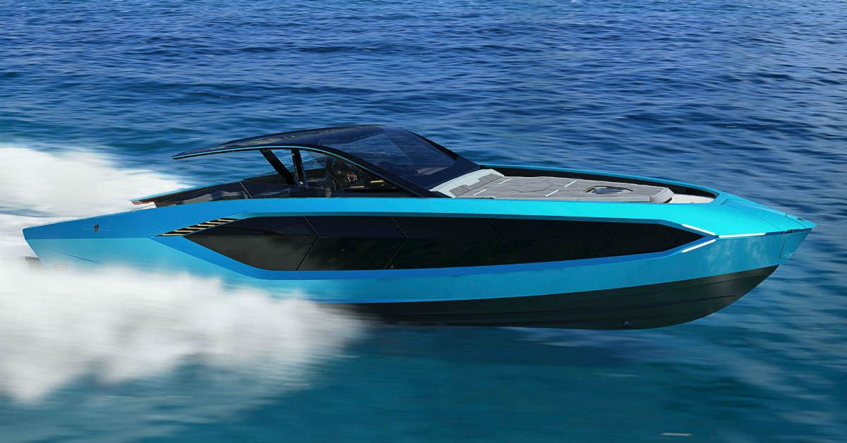 10 Ridiculous Facts We Just Learned About Lamborghini's Yacht