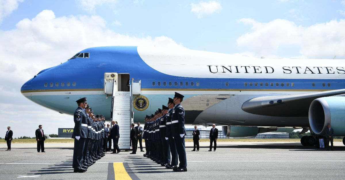 Here's Why President Donald Trump Travels With Air Force One And Minimum 7 Planes