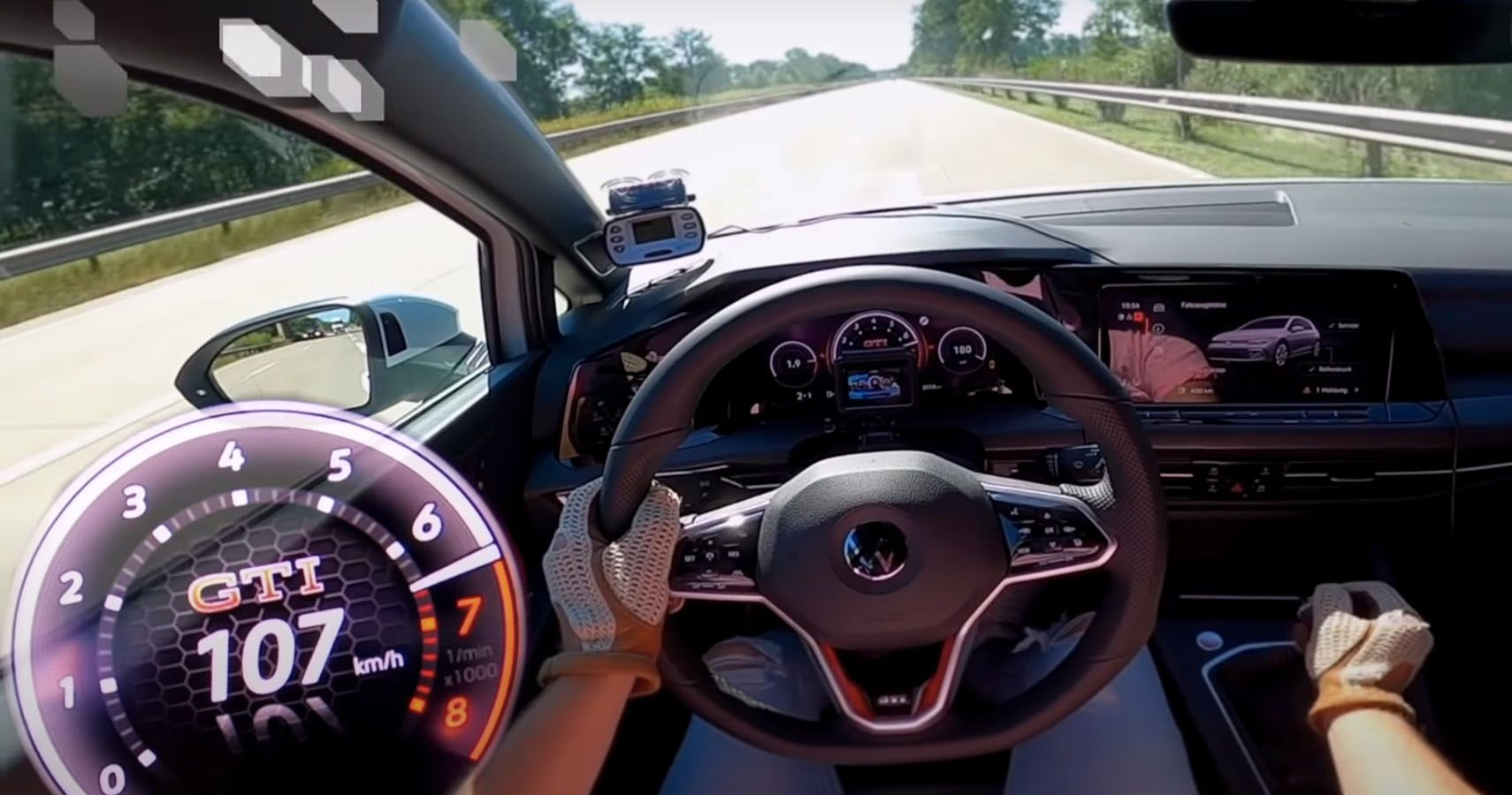 Check Out This Mk8 VW Golf Hit Top Speed On The Autobahn