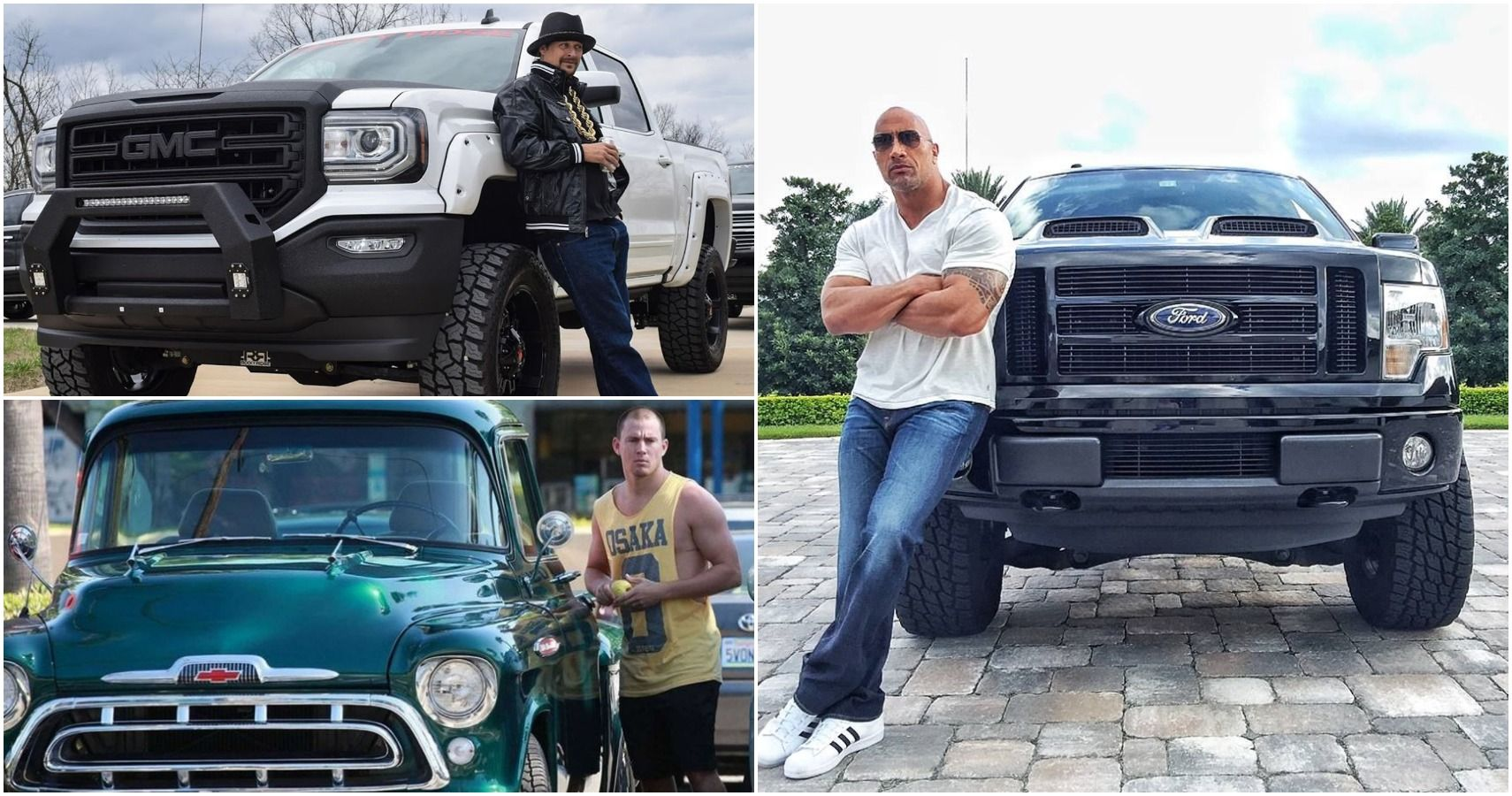 These Are The Coolest Pickups Owned By Celebrities