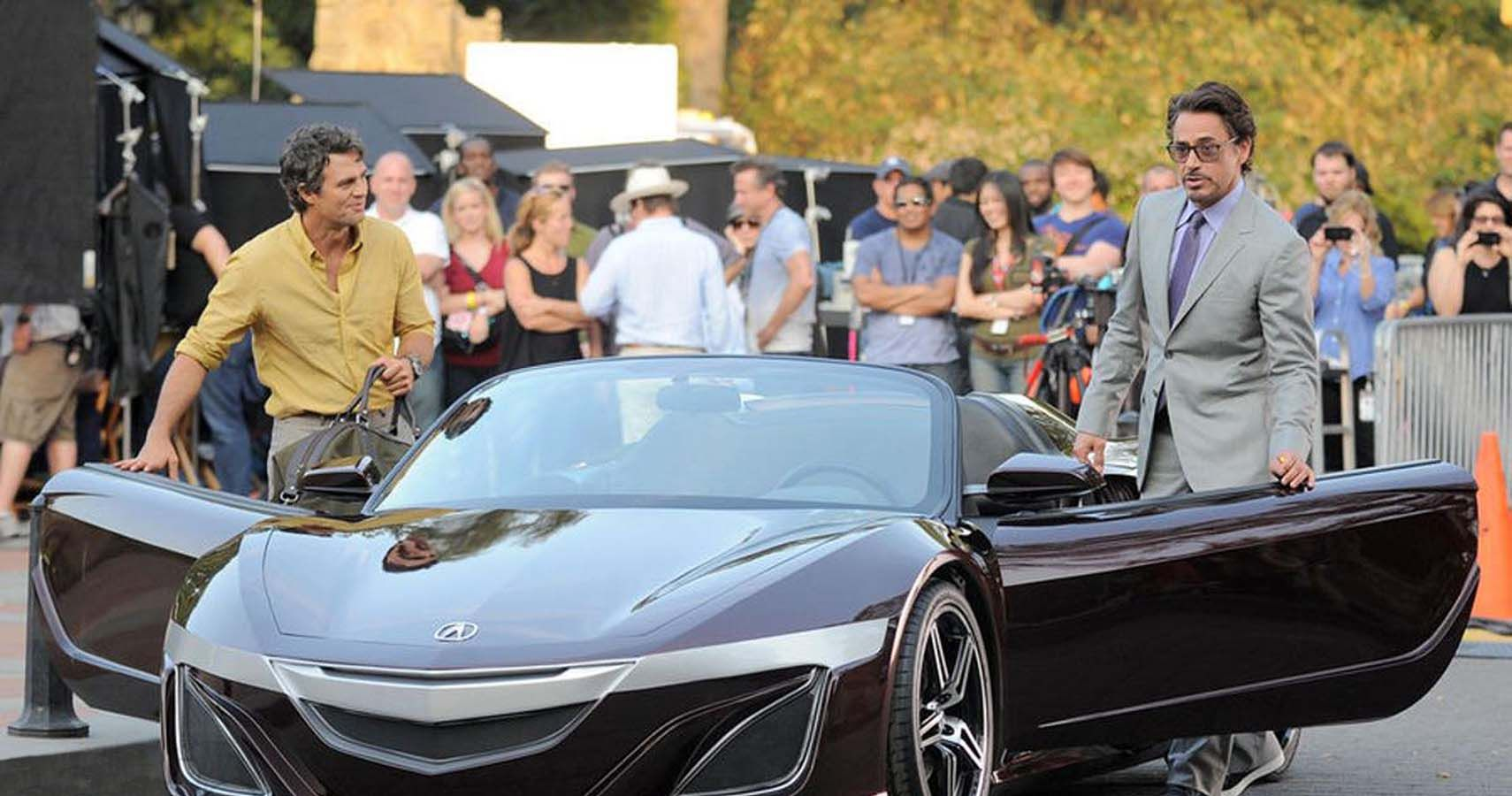 Here's What We Know About Robert Downey Junior's Insane Custom Acura