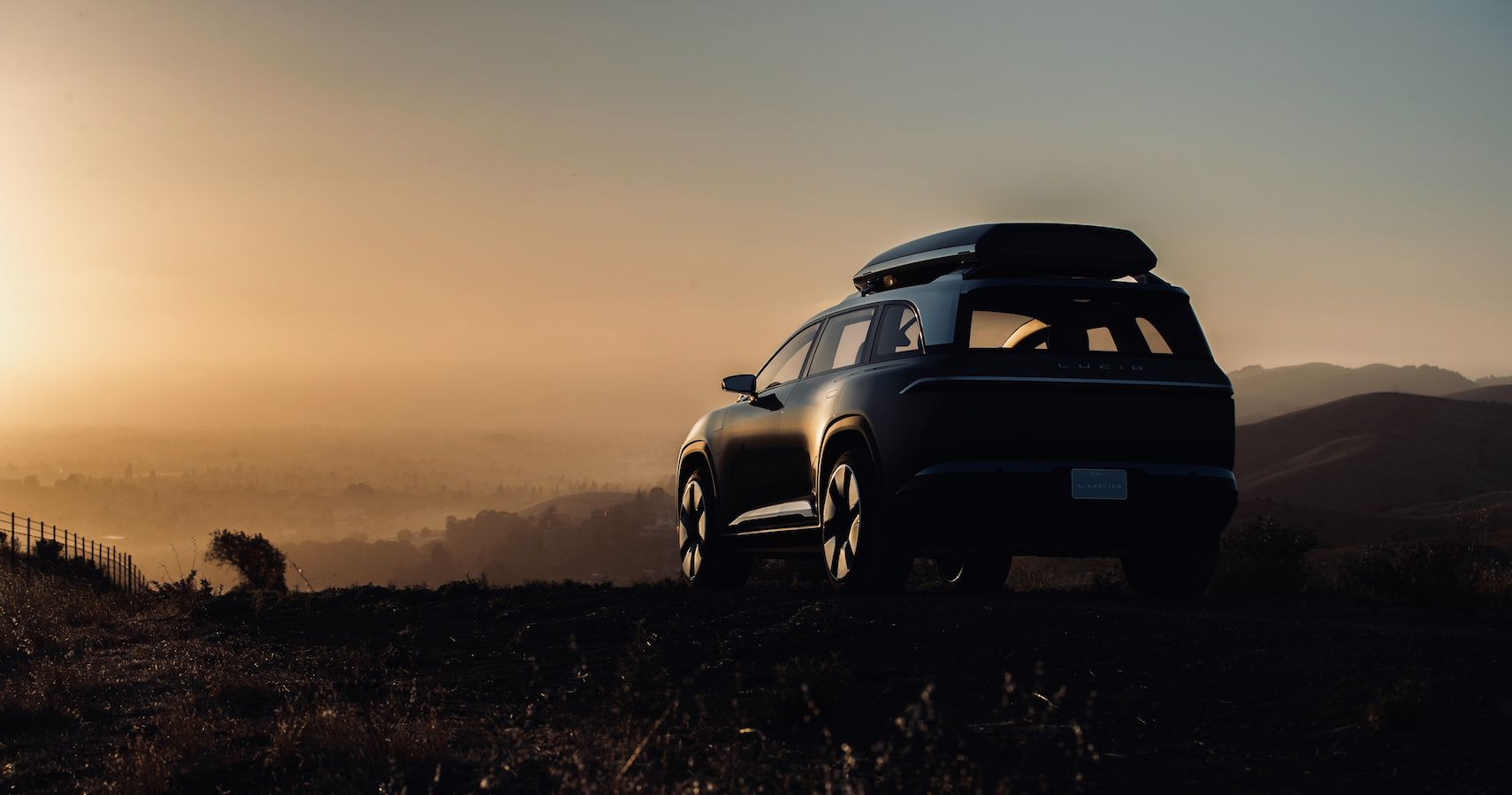 Lucid Teases 1080 Horsepower Luxury SUV Aimed Squarely At Tesla And Rivian